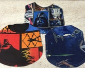 Star Wars Baby Bibs set of 3