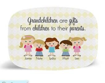 Kidlet Grandparent Tray/Platter
