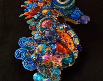 The Fantastic Bead Mosaics Mini Sealife Series Cayman Island Seahorse