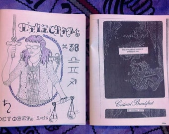 Telegram #38 / Critical Breakfast #1 split zine