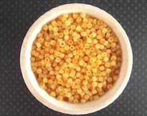 WHOLESALE Seed Beads, Opal Yellow Antique Seed Beads, 5/0, 4.5mm, 500 Grams, Wholesale Beads, Bulk Beads, Sale Beads, Yellow Seedbeads CV86W