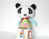 Plush Panda Doll Stuffed Panda Animal Toy for Baby Children