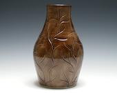 Mahogany Brown Branch Vase