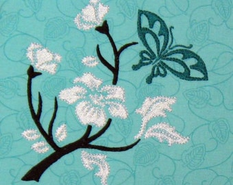 Floral Delight- 10 Design Set + Bonus Project- Embroidery Designs