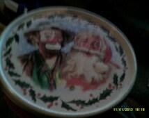 Emmett Kelly Jr Christmas tin
