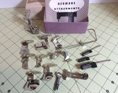 Kenmore attachment set in original box with manual, low shank for your vintage sewing machine!
