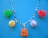 Sugary Gumdrop Necklace
