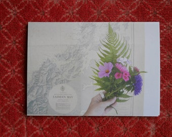 postcard set : embroidery + sprigs