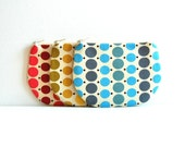Coin Purse, Small Zipper Pouch, Choice of Colors, Women and Teens, Denyse Schmidt Fabrics