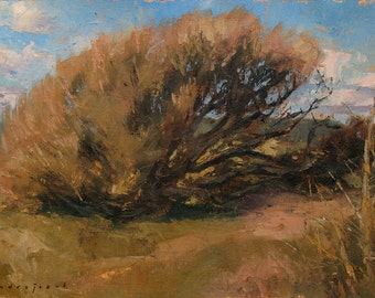 Nature's Lace, landscape oil painting, direct from artist