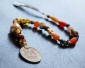 Long Pirate Hair Jewels Renaissance Costume Accessory