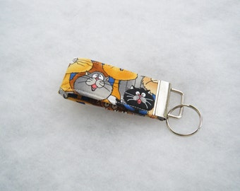 Mini Key Fob  - Singing Cats