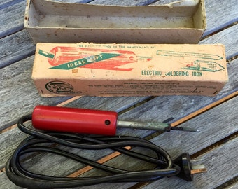 Vintage Australian made electric soldering iron 240V