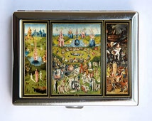 The Garden of Earthly Delights Cigarette Case Wallet Business Card Holder