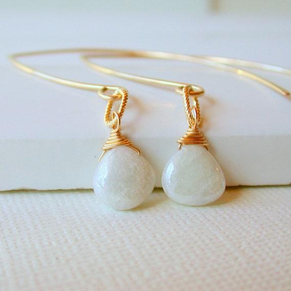 50 Percent Off! Silverite Drop Earrings. Open Hoop Earring. Curving Earrings. Wedding  Bridal Earrings.