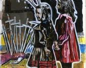 Original Apophenia Tarot Card The Ten of Swords