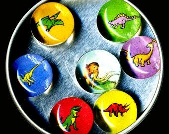Dinosaur Magnet Set