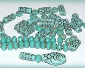 RESERVED  Czech Glass Snake Bead Kit #kit26