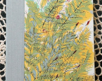 Handbound Artist Journal from vintage book