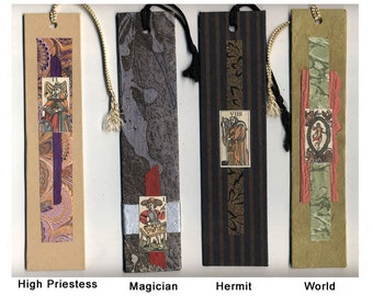 Tarot Collage Bookmarks Each Sold Separately