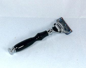 Handcrafted Acrylic Razor Handle for Gillette Fusion/Mach3/Venus/DE Safety Razor