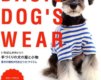 Basic Dog's Wear -  Japanese Craft Book