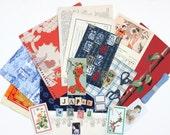 Vintage Japanese Scrapbook Inspiration Kit
