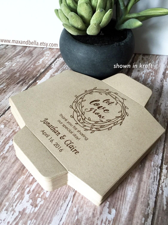 sunflower seed packets wedding favors - Wedding Decor Ideas