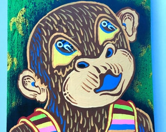 Whistling Chimp