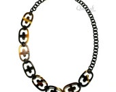 Horn Chain Necklace - Q12162