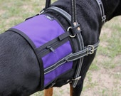 Service Dog Harness Vest / Harness Cape, attaches to Harness that has D rings - Guide / Mobility / Assistance or similar - Custom made vest