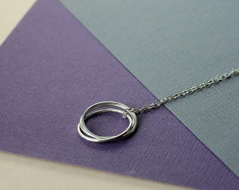 Nest Necklace -  handcrafted sterling silver jewellery