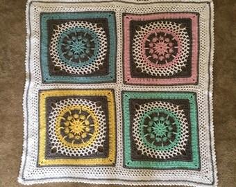 Custom, handmade, baby blanket, crochet