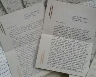 Eight Vintage Letters...1944