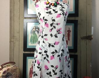 1960s sundress 60s sheath mad men dress size medium vintage dress 20s style dress dropwaist dress