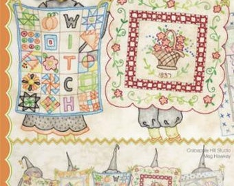 Salem Quilt Guild's Show And Tell - By Meg Hawkey - From Crab-Apple Hill (349) - 9.00 Dollars