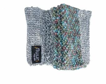 handknit / scarf / HERMINE // ooak / vegan suitable