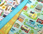 Stars Hollow Fabric, 6 Fat Quarters-- Gilmore Girls Inspired