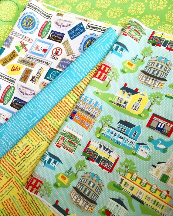 Stars Hollow Fabric