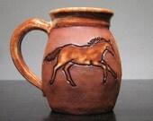 Horse   Mug   ...................                       e892