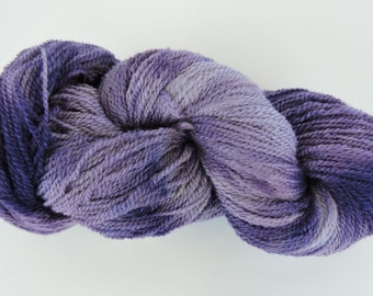 Home Grown Kid Mohair and Merino 2 ply Deep Purple 15-12-15