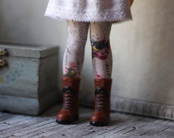Bluebird Blythe Doll Socks
