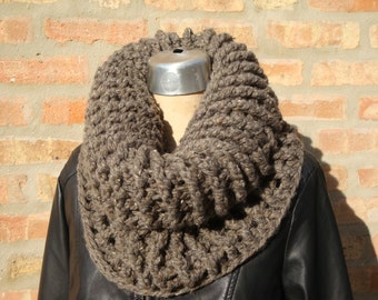 Chunky  - Crocheted Cowl - Handmade - Ready to ship - Claire Inspire