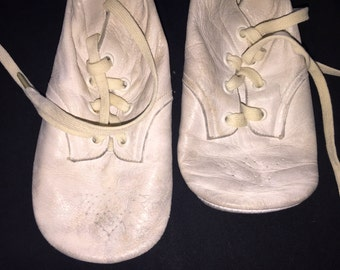 Vintage Ideal Soft Sole Baby Shoes