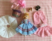 Vintage Madame Alexander Doll and Accessories
