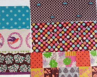 Echino Fabric by Estuko Furuya - 4 Fat Eighths - Bundle 6