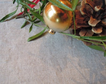 """Large Linen Tablecloth, Table Linens, Natural, 69"""" x 106"""""""
