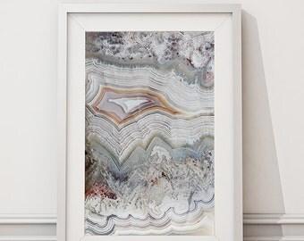 Mineral Photography - (Print #005)  Crazy Lace - Fine Art Print