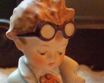 Vintage Goebel Hummel Figurine #127 - Little Boy Doctor - Artist Signed
