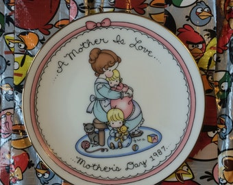 Joan Walsh Anglund Mother's Day Plate